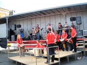 Dave Bilbrough  Psalm Drummers & musicians