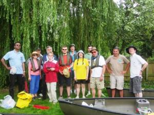 Canoe group 2012
